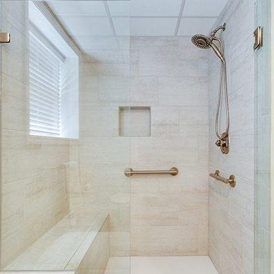 Large ADA Bath Shower